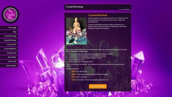 Mycrystalbliss screen2