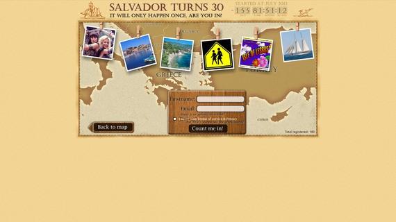 Salvadorturns30project screen3