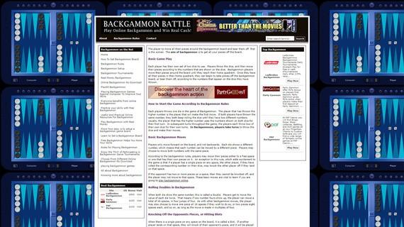 Backgammonbattle screen1