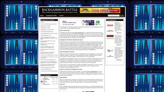 Backgammonbattle screen2