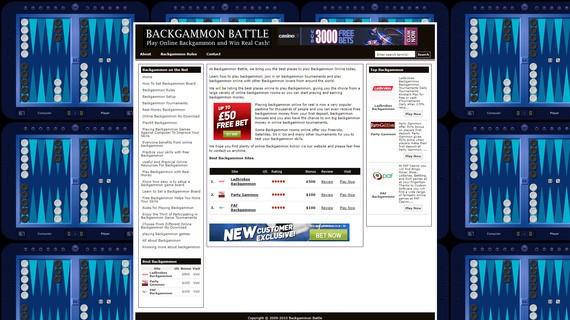 Backgammonbattle screen3
